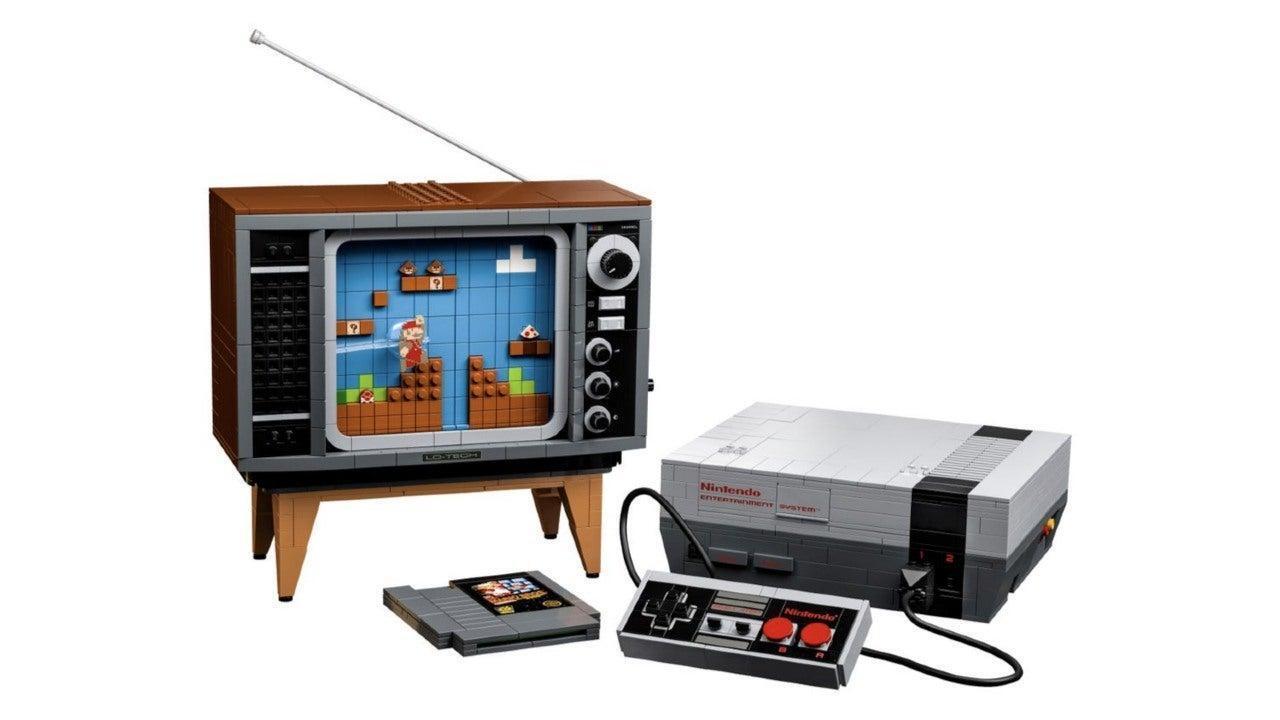 Lego lanza una consola de Nintendo con todo y televisión