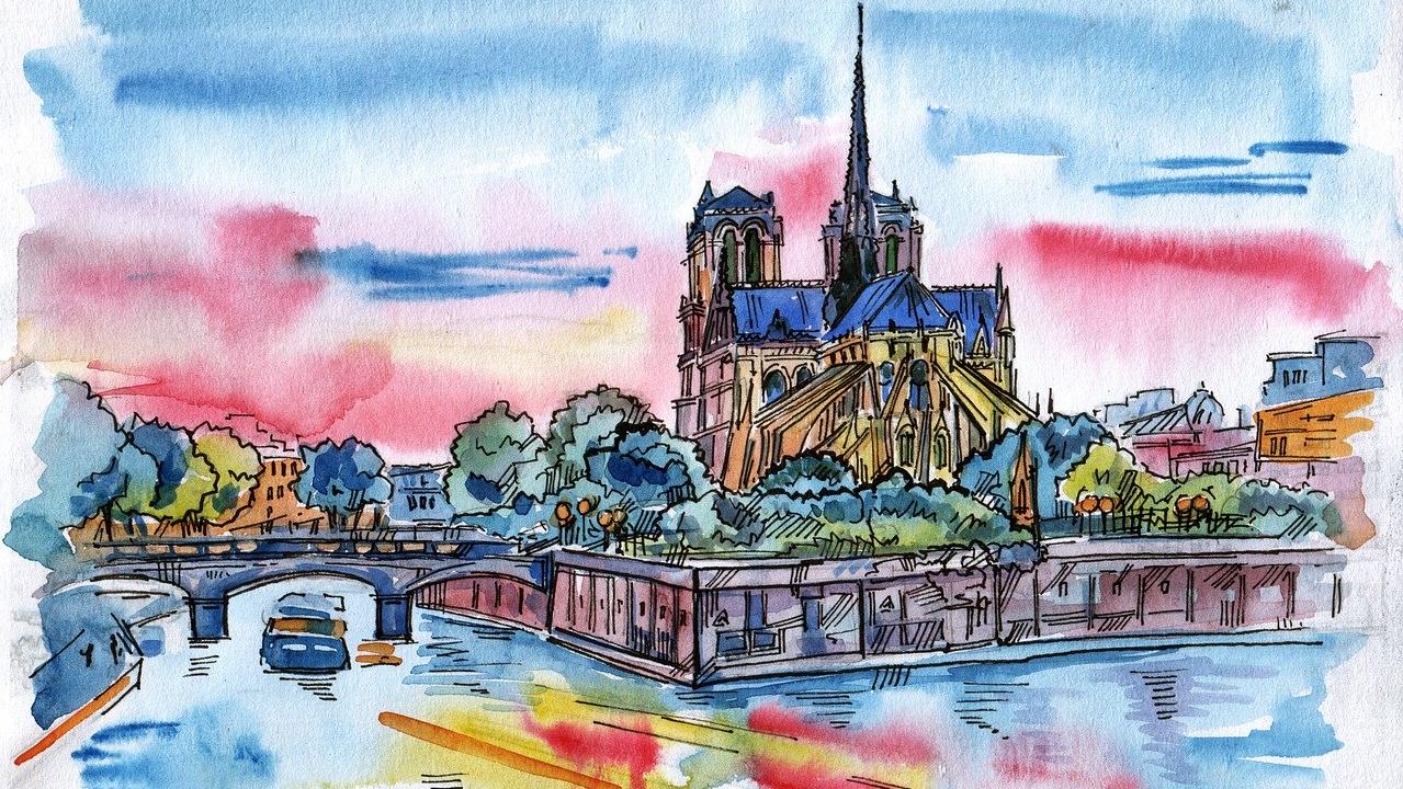 La catedral de Notre Dame será reconstruida idéntica