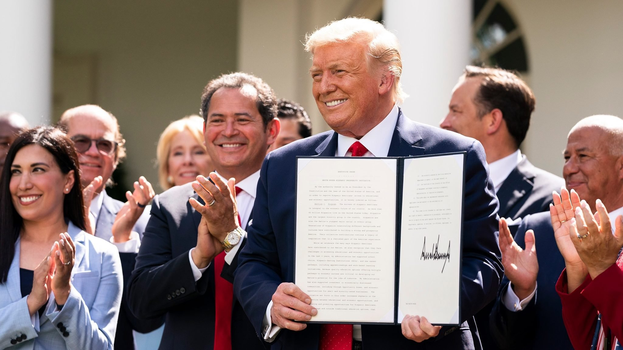 Trump latinos