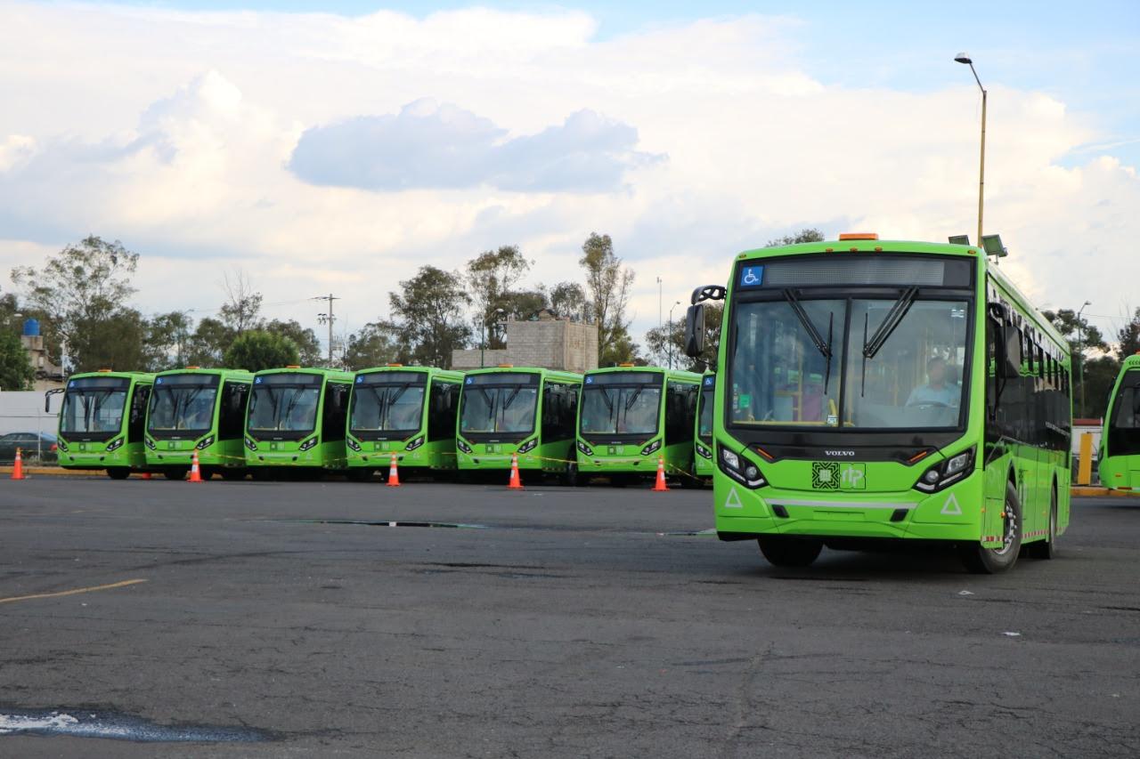 CDMX estrenará 130 trolebuses y 97 vehículos de RTP