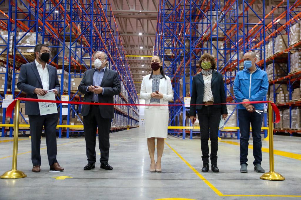 Grupo Neolpharma inaugura centro de distribución de medicamentos en Vallejo