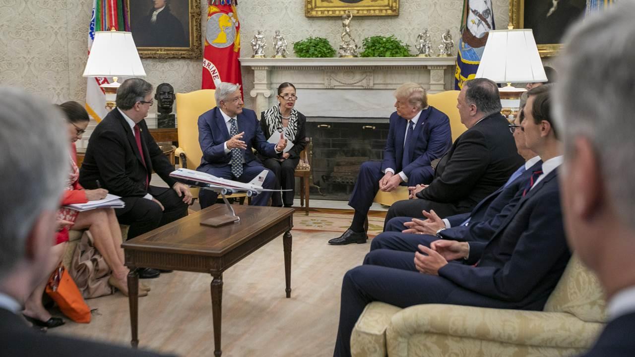 Ganadores y perdedores en el encuentro AMLO-Trump