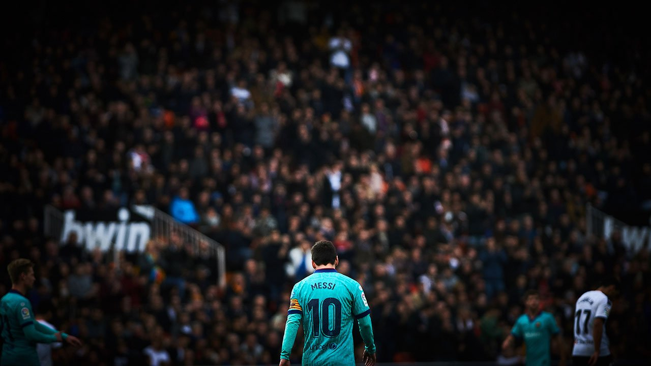 Messi dice que la pandemia de Covid cambió el futbol 'para mal'