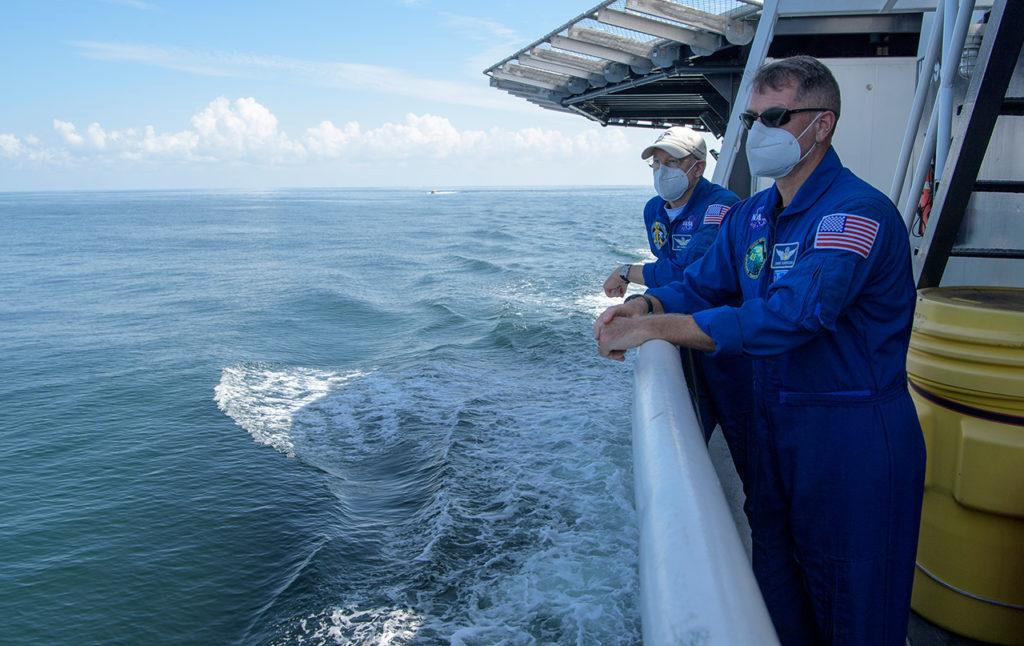 SpaceX Demo-2 Pre-Landing NASA