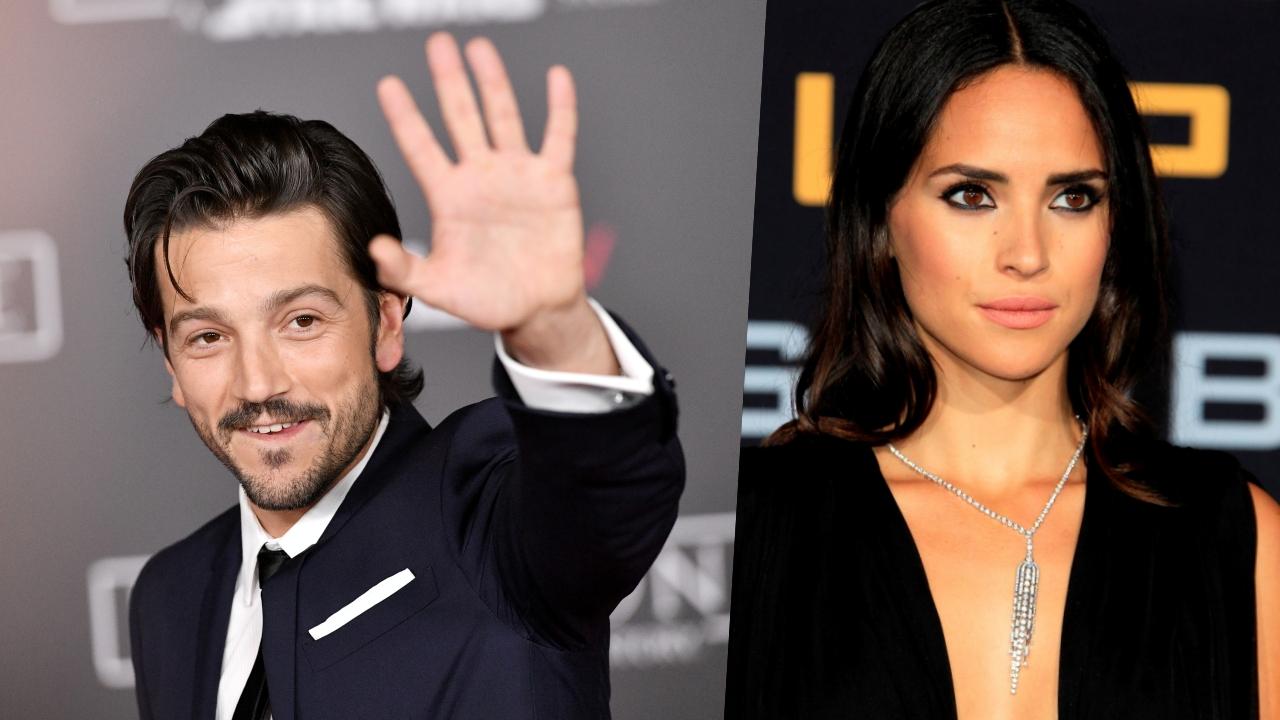 """Diego Luna y Adria Arjona estarán juntos en """"Star Wars"""""""