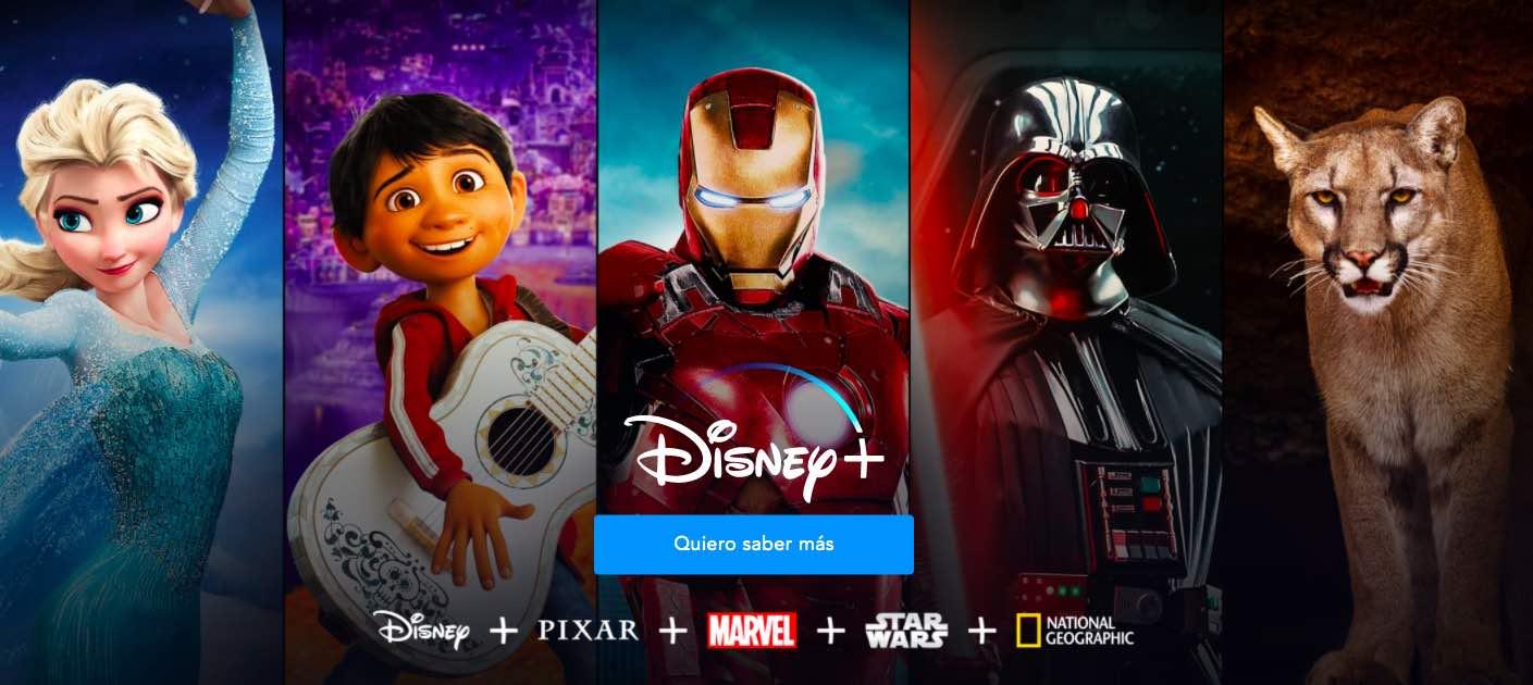 Confirmado: Disney+ llega a México el próximo noviembre