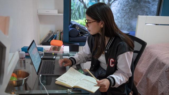 Escuela en casa, clases en linea, regreso a clases, clases en linea clases virtuales, educación, estudiante, escuela privada, secundaria