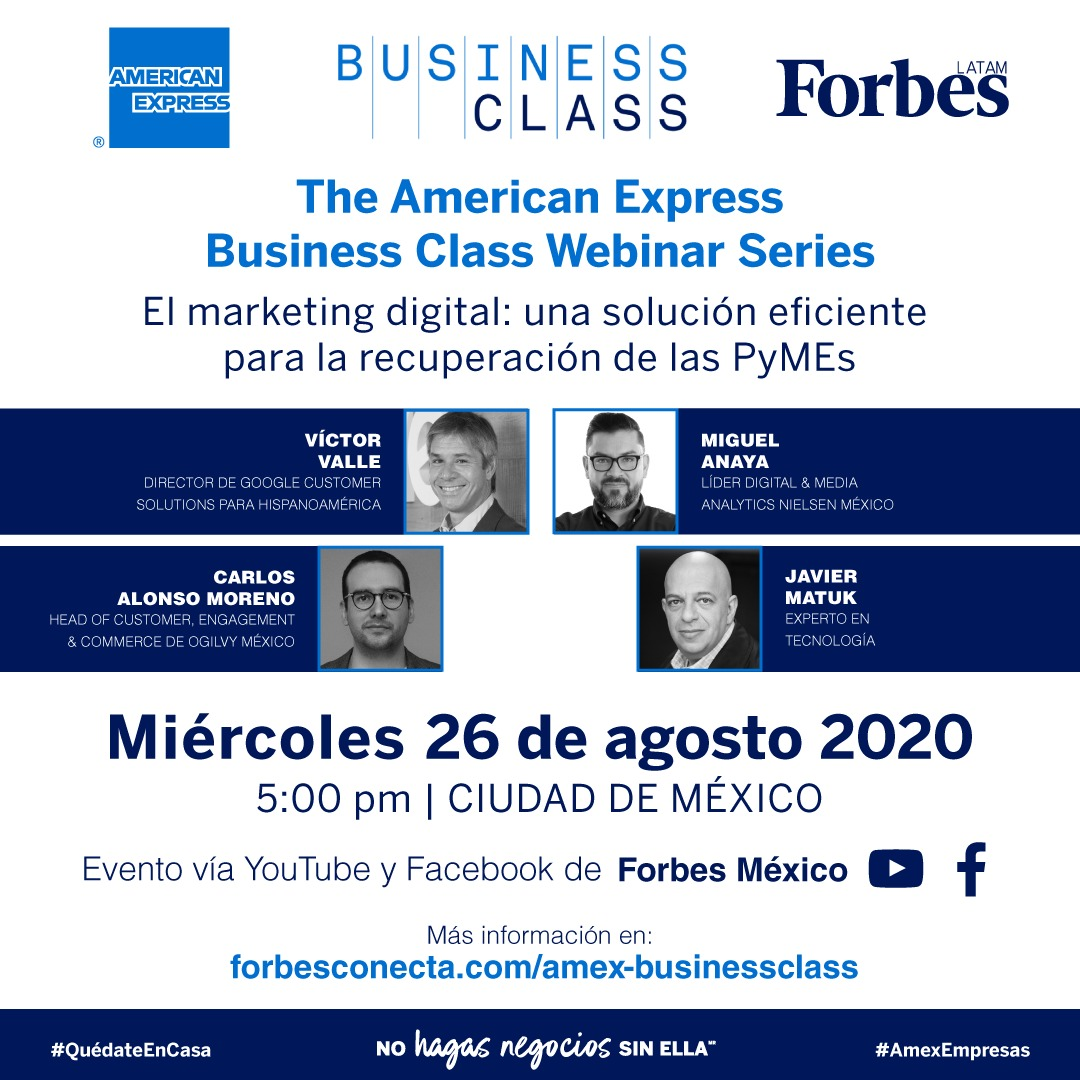 AMEX Business Class | Marketing Digital: una solución eficiente para la recuperación de las Pymes