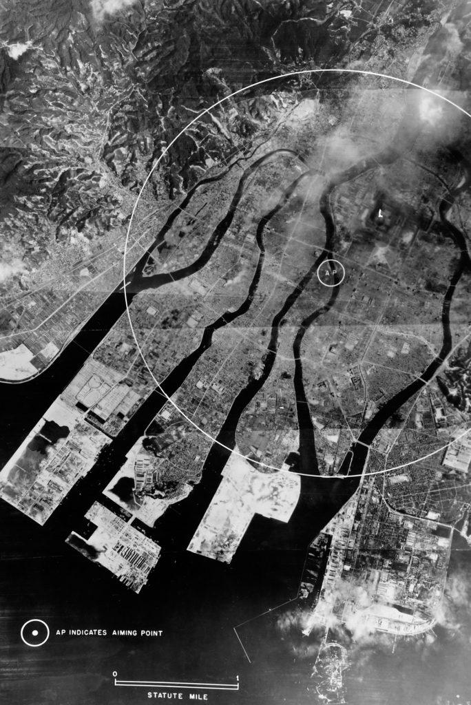 Reconnaissance Photograph Of Hiroshima