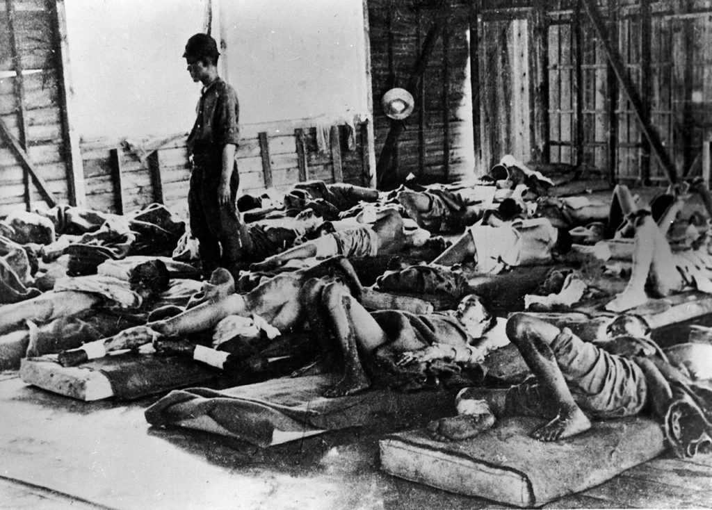 Atomic Bomb Victims In Hiroshima