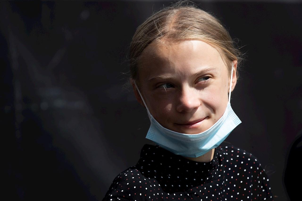 El mundo sigue en negación sobre el clima: Greta Thunberg