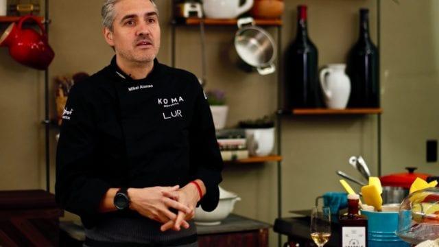 Mikel Alonso Chef Lur Polanco comida orgánica abasolo 2