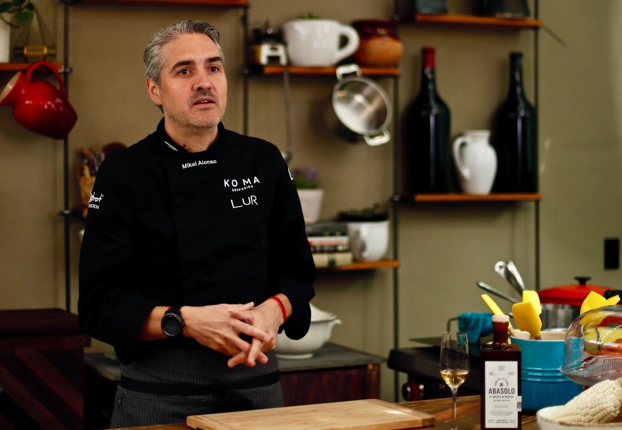 Fusiones espirituosas: Así comparte el Chef Mikel Alonso los sabores que está creando