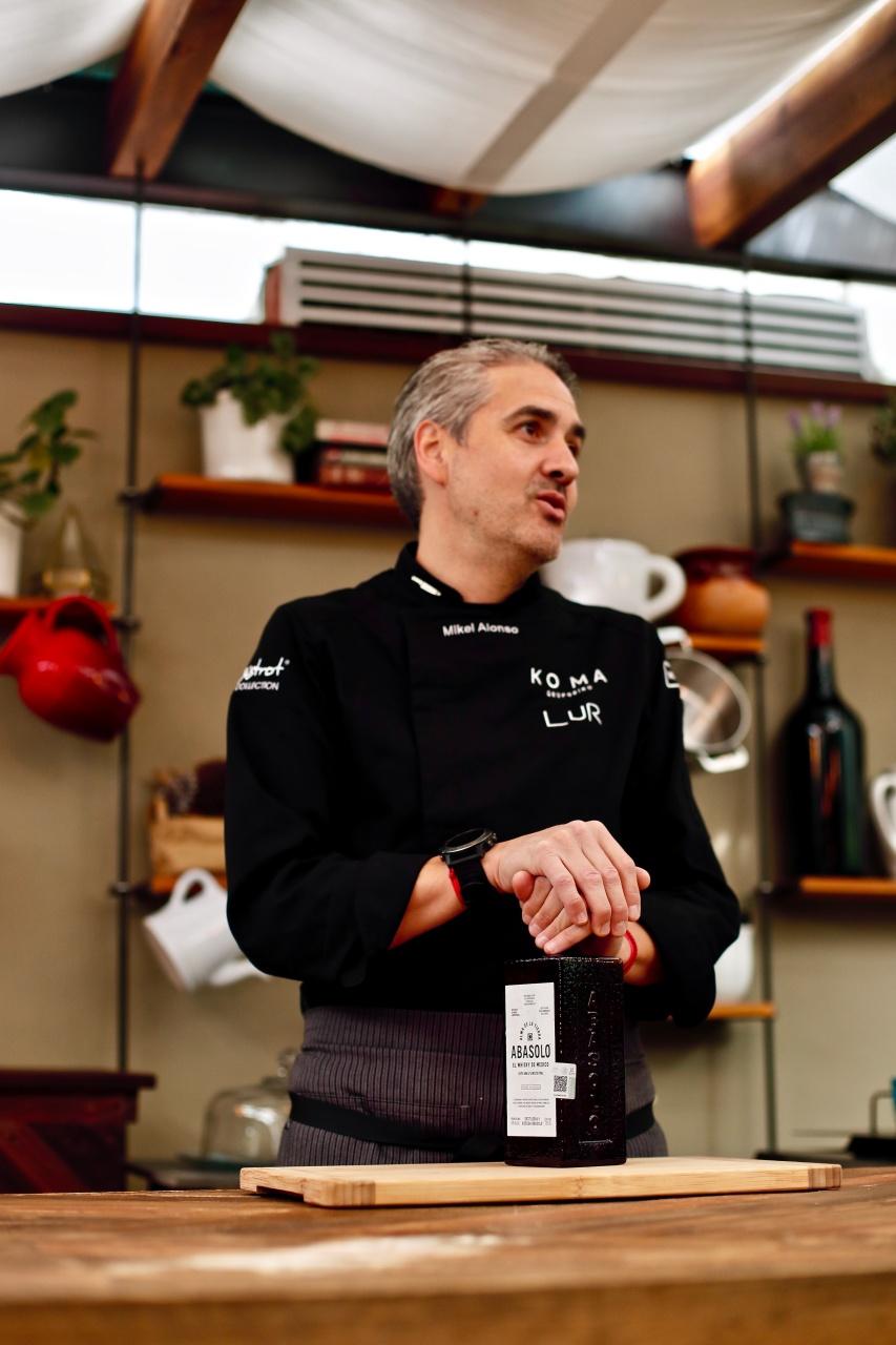Mikel Alonso abasolo Chef Lur Polanco comida orgánica