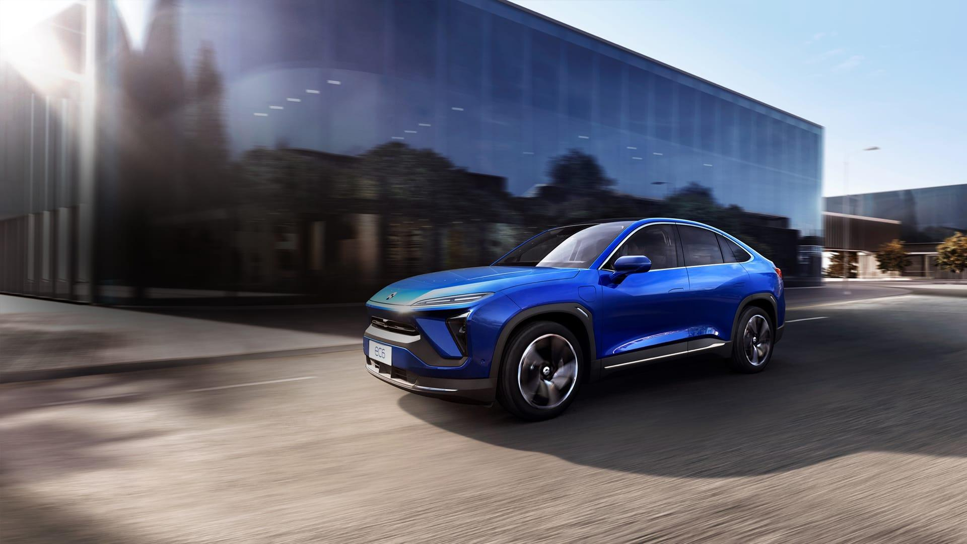 Nio busca vender sus autos eléctricos en Europa a partir de 2021