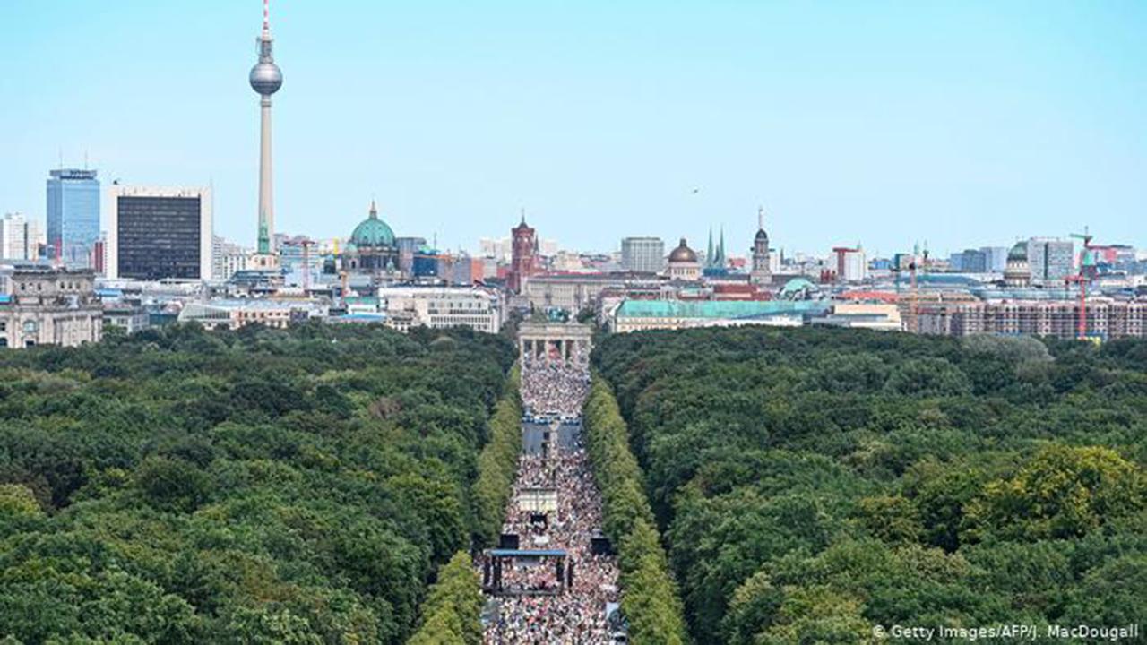 Protestas en Berlín: libertad de reunión vs salud pública