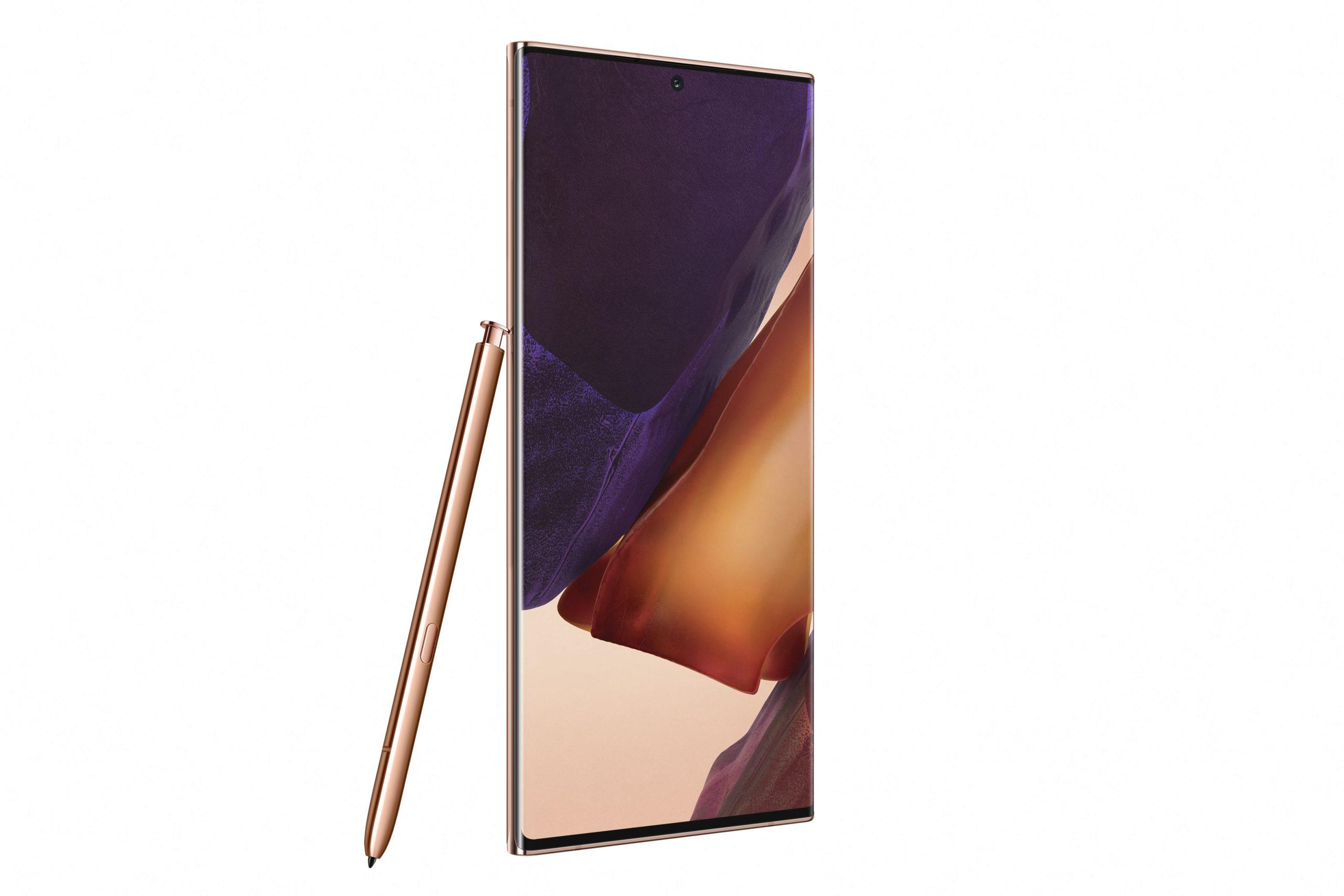 Samsung presenta en México los nuevos Galaxy Note 20 y 20 Ultra