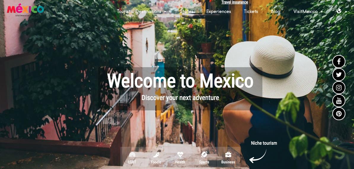 Sectur ofrece disculpas por los errores de VisitMexico y realiza denuncia