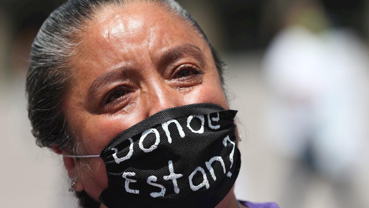 México reporta 4,960 personas desaparecidas en 2020 con 'tendencia a la baja'