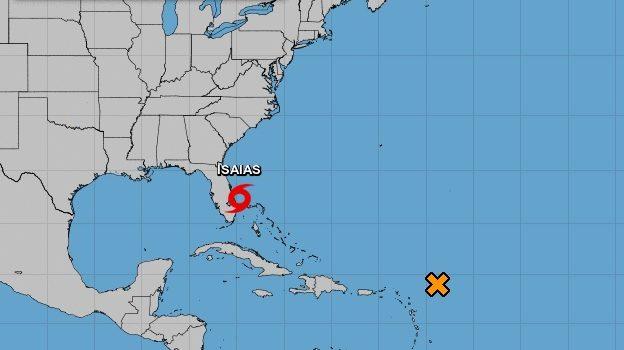 Tormenta Isaías llegará a NY el martes
