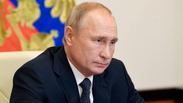 vadimir Putin presidente de rusia