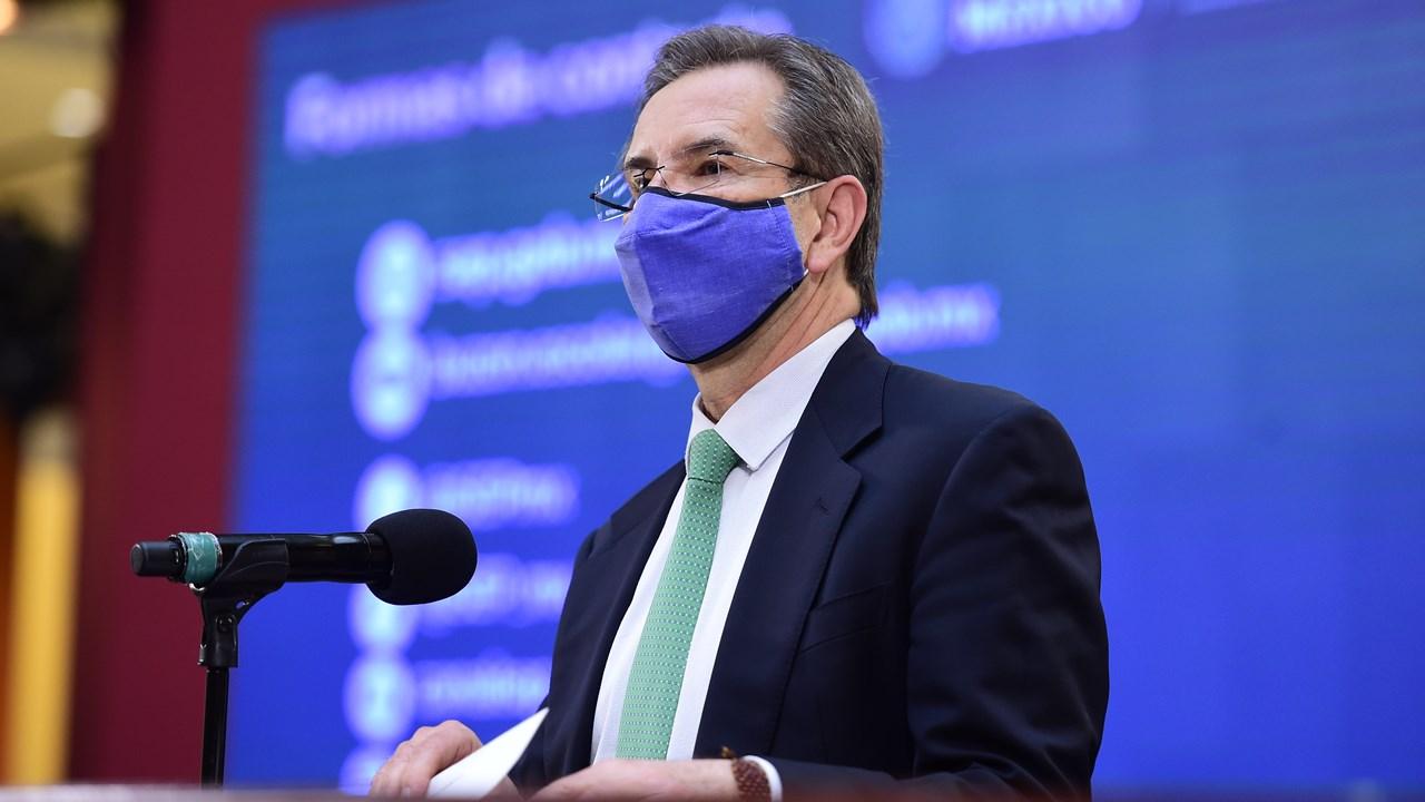 Esteban Moctezuma, próximo embajador de México en EU