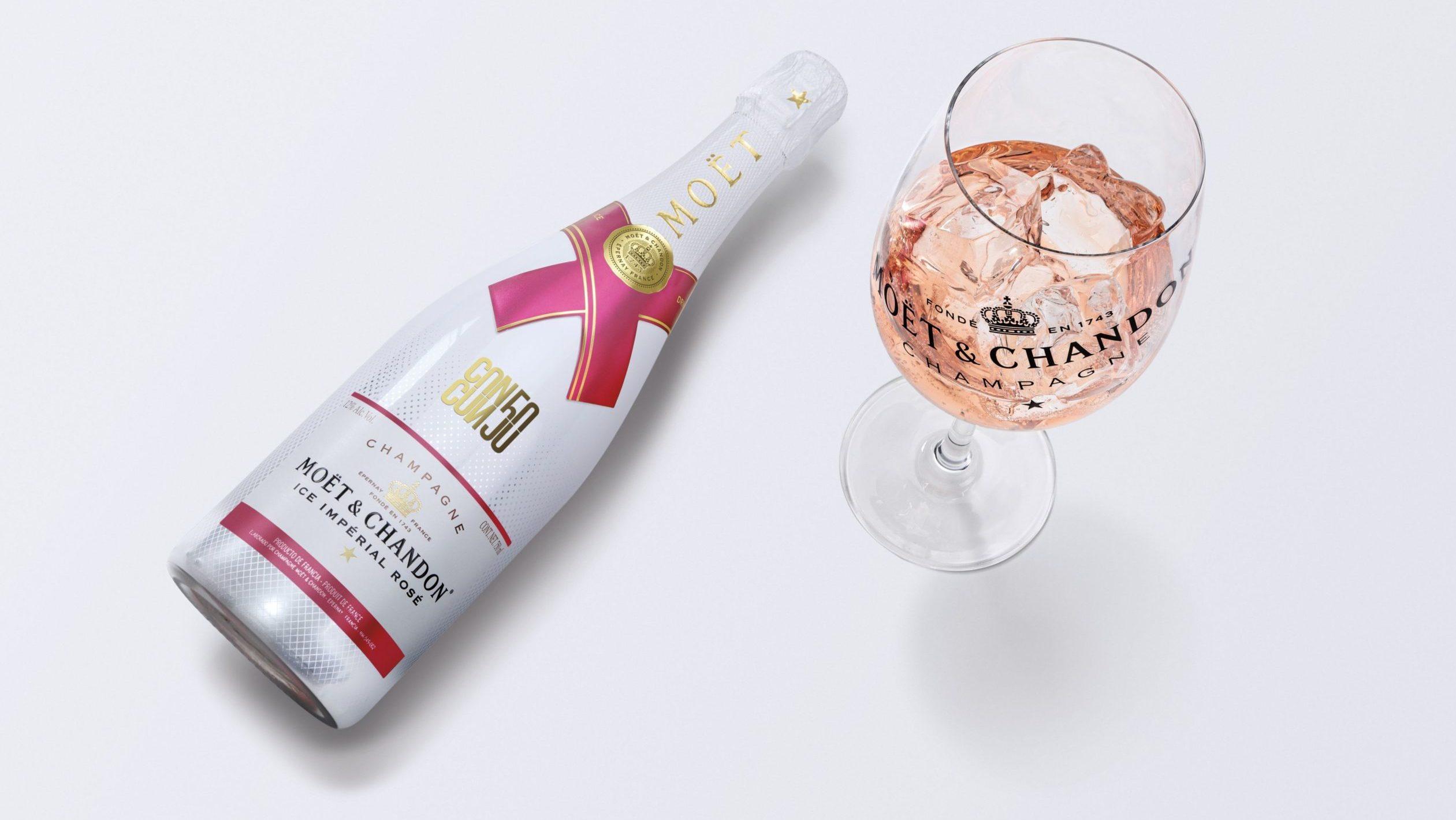Moët & Chandon lanza una botella de champagne inspirada en Cancún