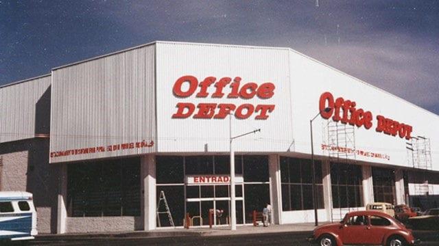 Imagen de una de las primeras tiendas ubicada en Guadalajara, Jalisco. (Foto: cortesía Office Depot)