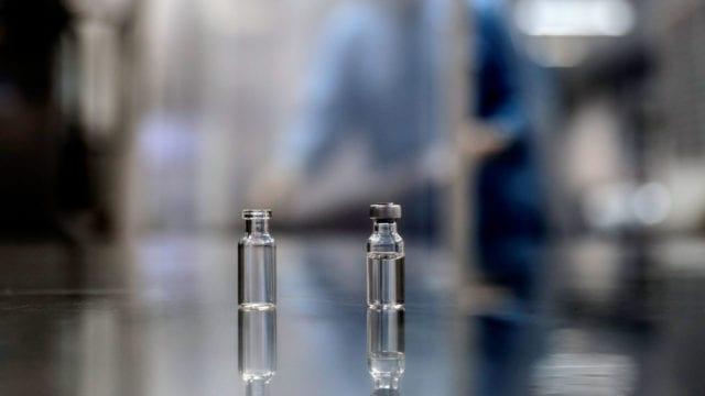 Vacuna vacunas laboratorio cura ampolleta formula
