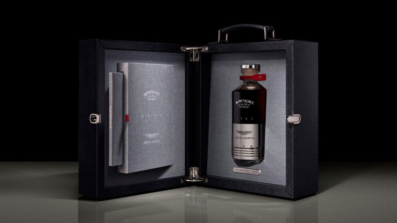 Aston Martin y Bowmore lanzan un exclusivo whisky con un pistón del DB5