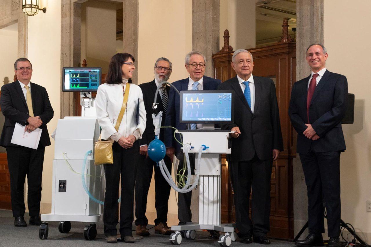 Fideicomiso desaparecido por Morena financió   ventiladores Covid-19 Ehécatl y Gätsi