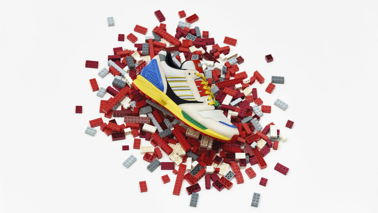 Adidas sneakers LEGO