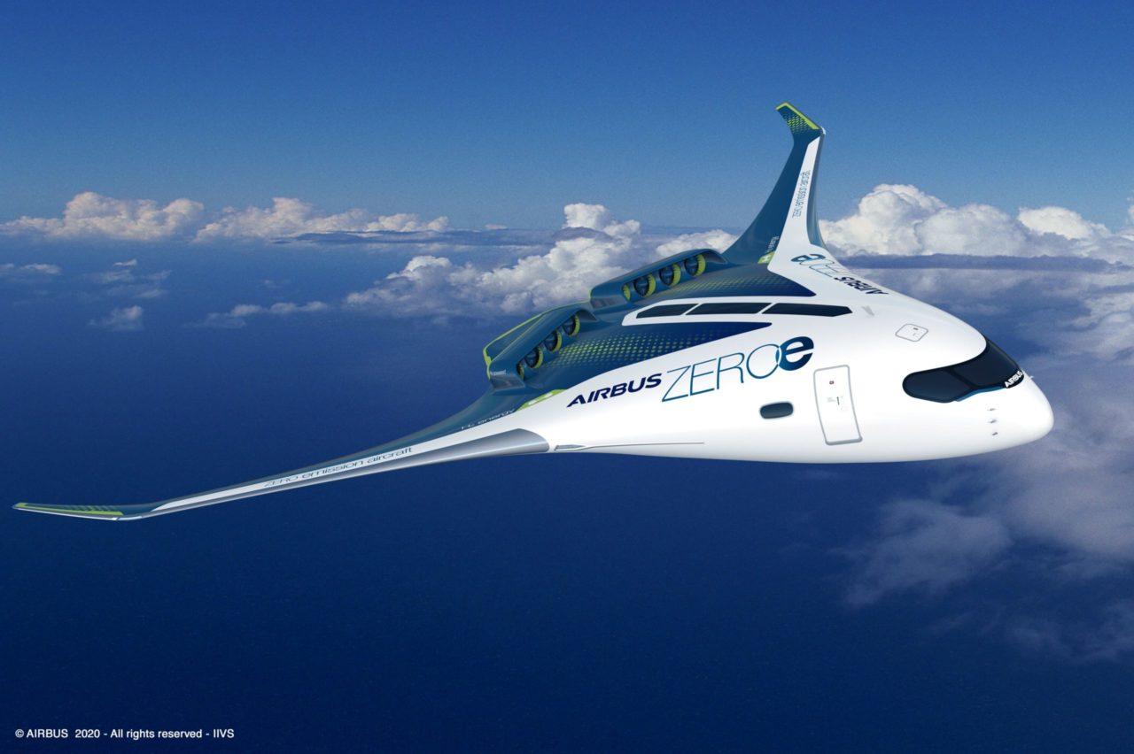 Airbus apuesta por el hidrógeno: prevé su primer avión sin emisiones contaminantes para 2035
