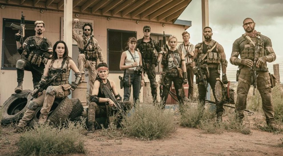 Army of the dead Zack Snyder Netflix