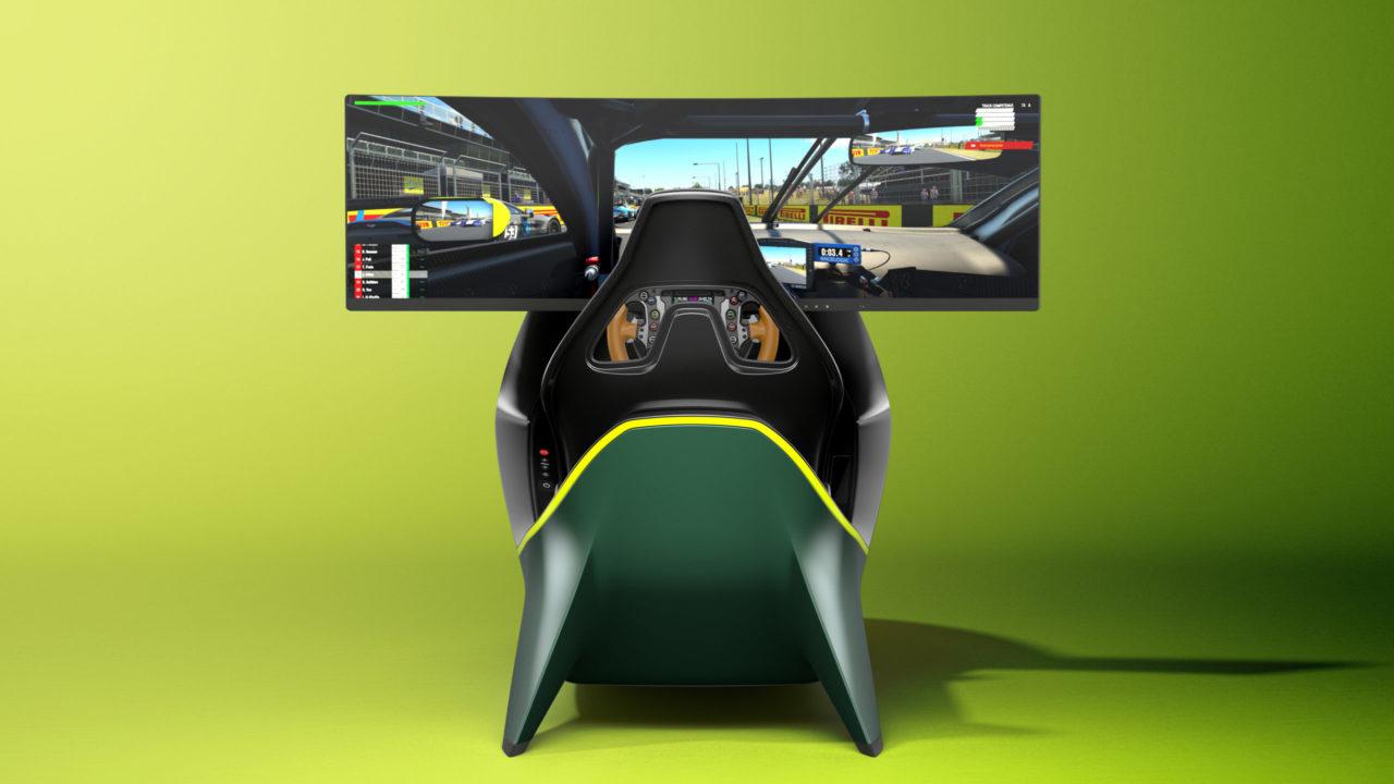 Aston Martin revela su lujoso simulador de carreras
