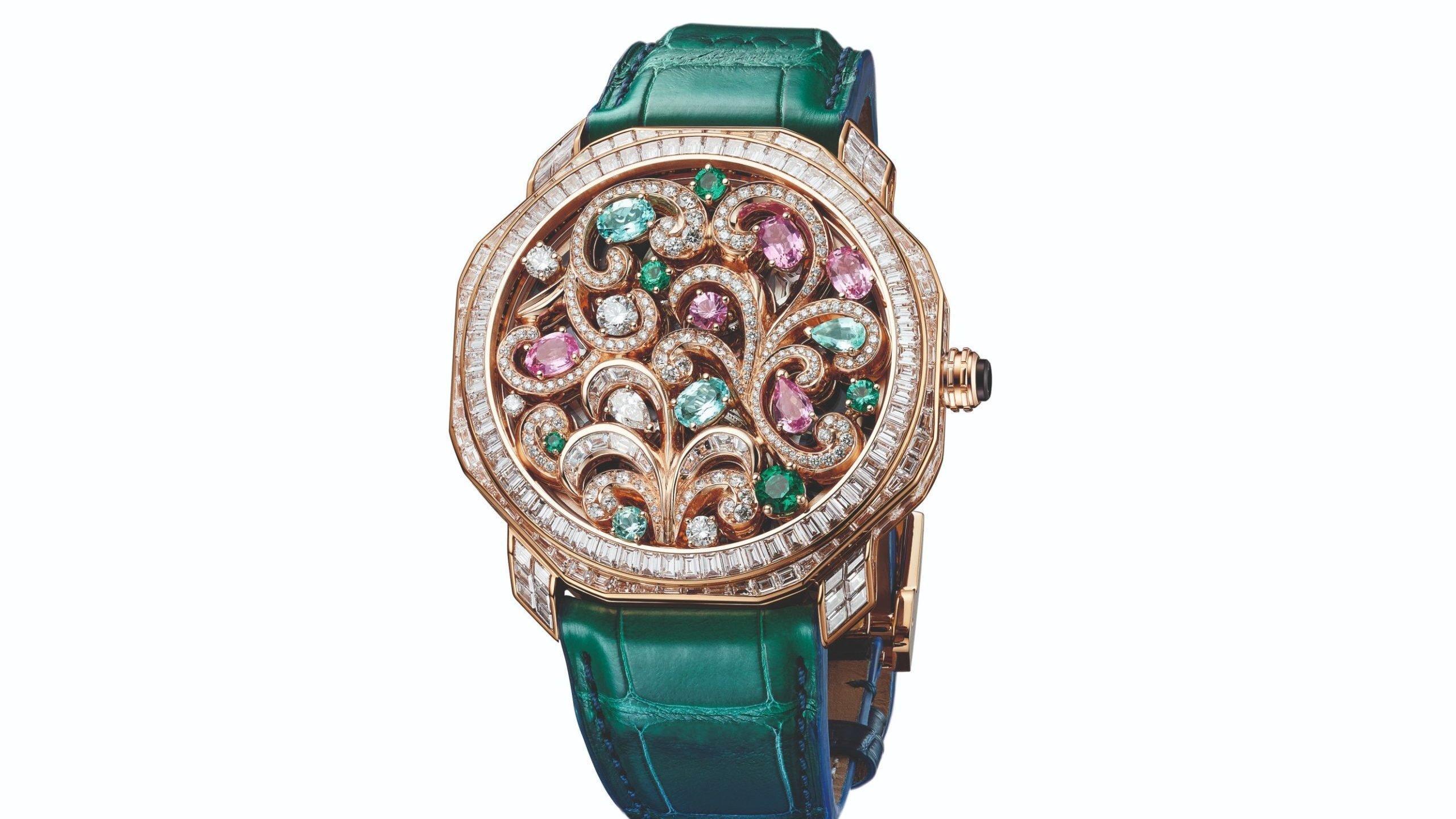 Barocko: La colección que envuelve los tres nuevos relojes de Bvlgari