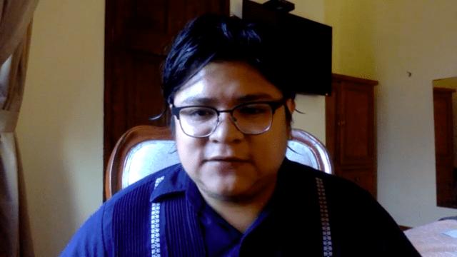 Gibrán Ramírez, aspirante a dirigir Morena