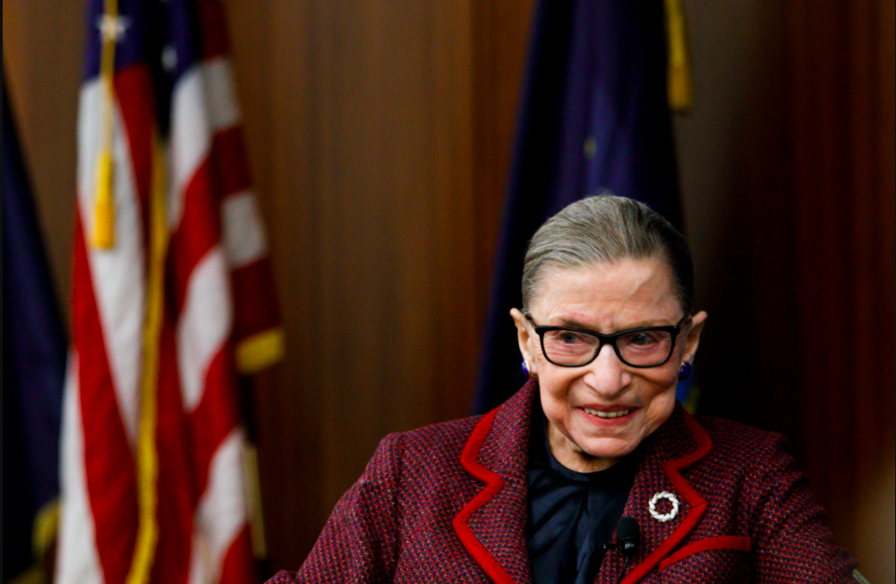 Muere la jueza progresista del Tribunal Supremo de EU, Ruth Bader Ginsburg