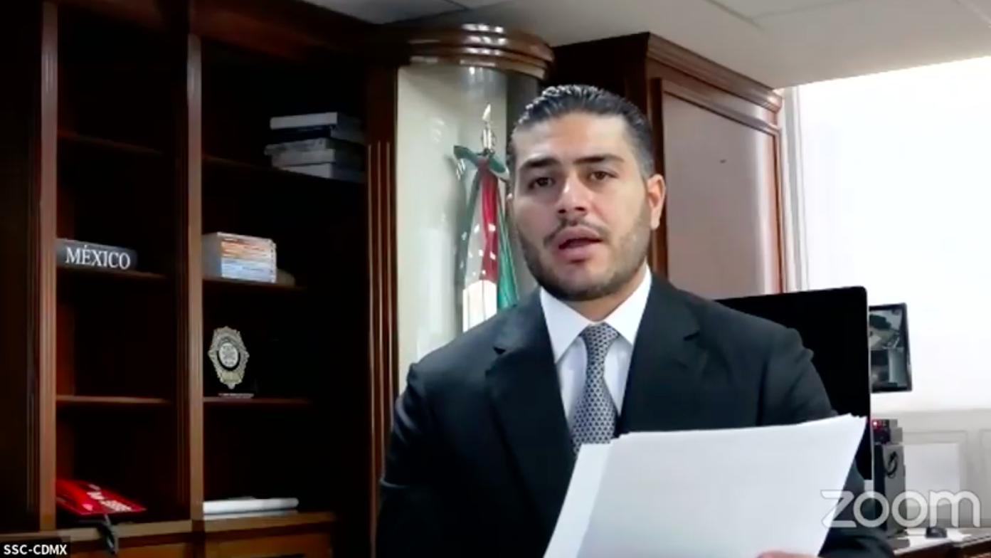 García Harfuch presume disminución de delitos en la CDMX