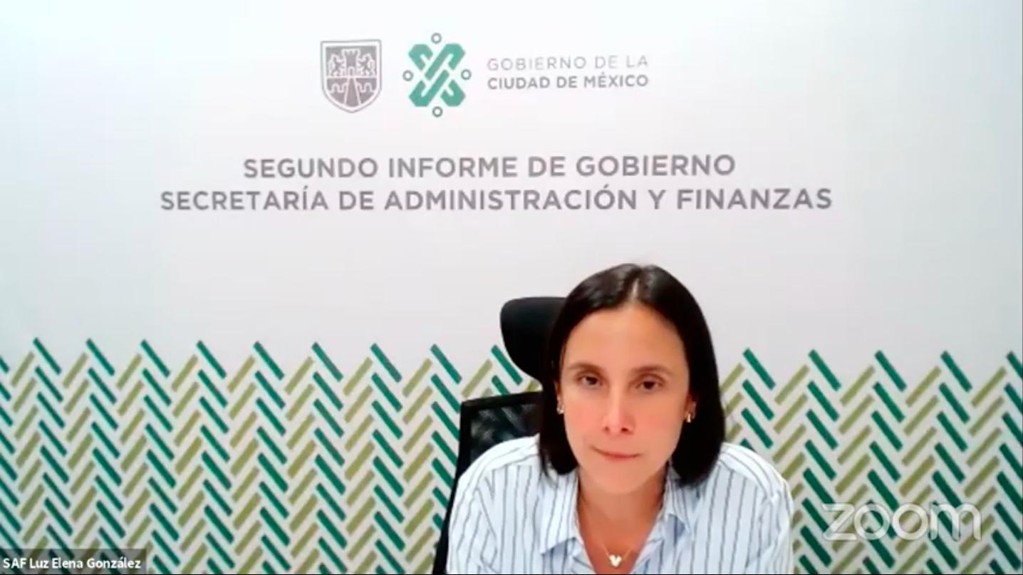 Luz elena gonzalez finanzas cdmx
