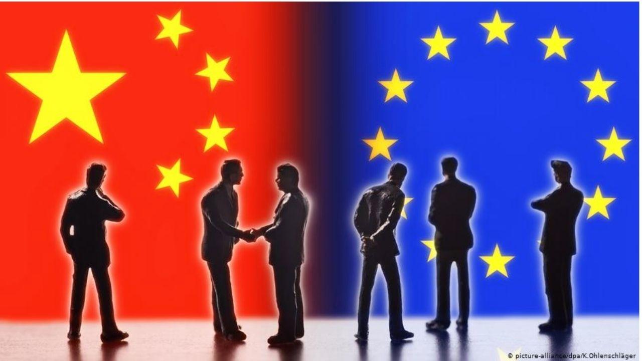 China y los máximos líderes de Europa celebran tensa cumbre virtual