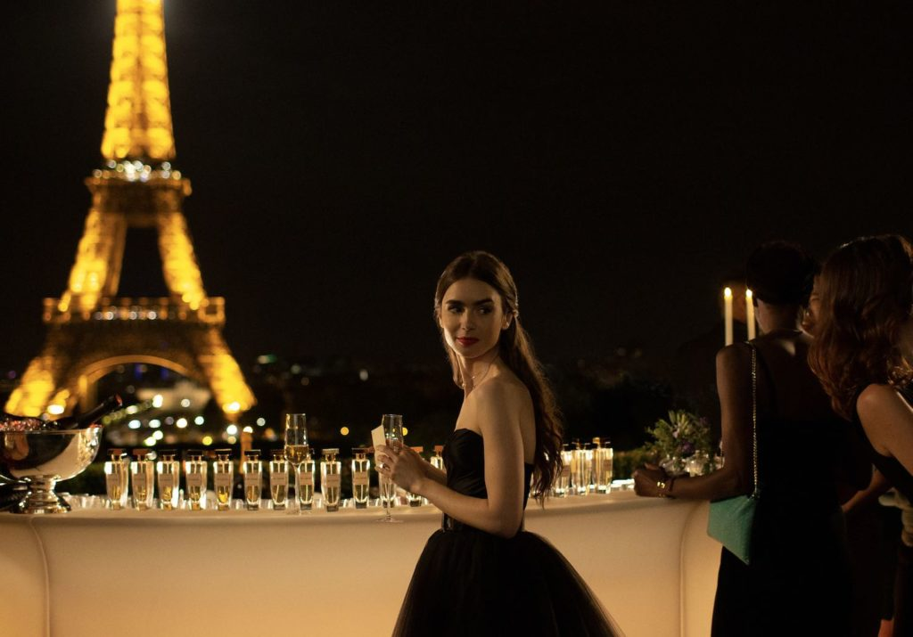 Emily en París Sex and the city Netflix