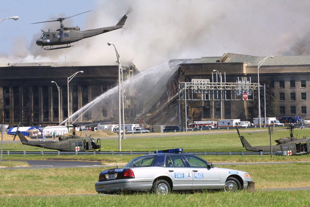 9/11 A plane crashed into the Pentagon