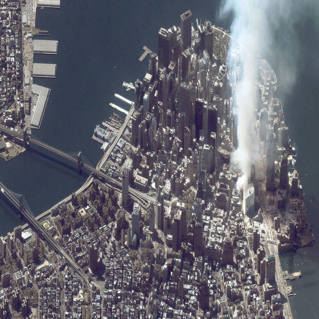 9/11 World Trade Center Attacked by Airplane