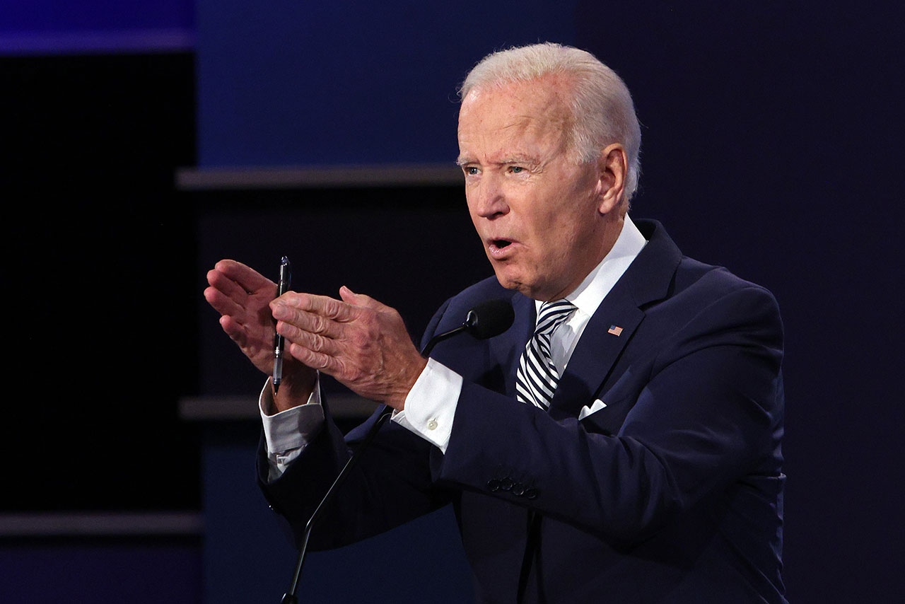 Donald Trump And Joe Biden Participate In First Presidential Debate