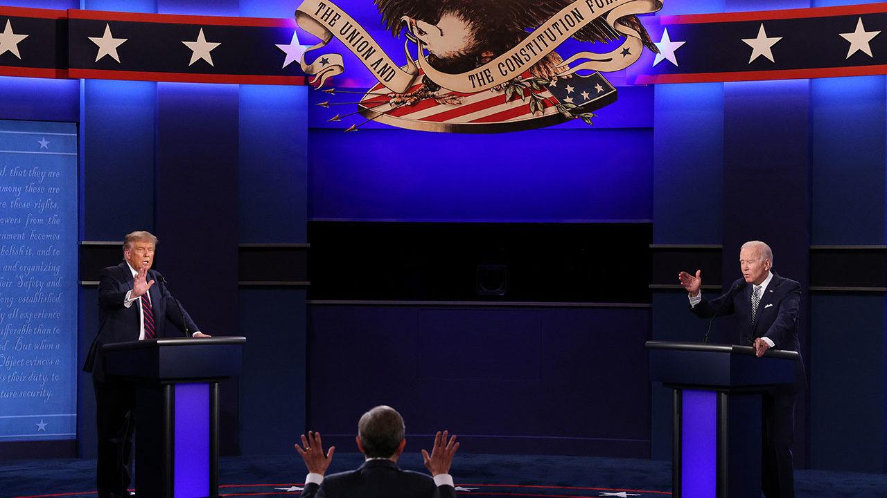 Fotogalería: encuesta da como ganador a Biden, en el peor debate de la historia de EU
