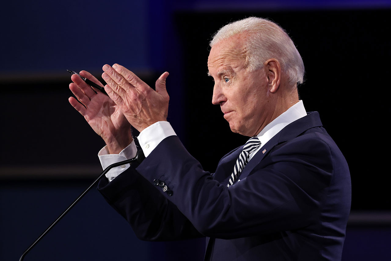 Biden aventaja por 12 puntos a Trump: encuesta ABC News-Washington Post