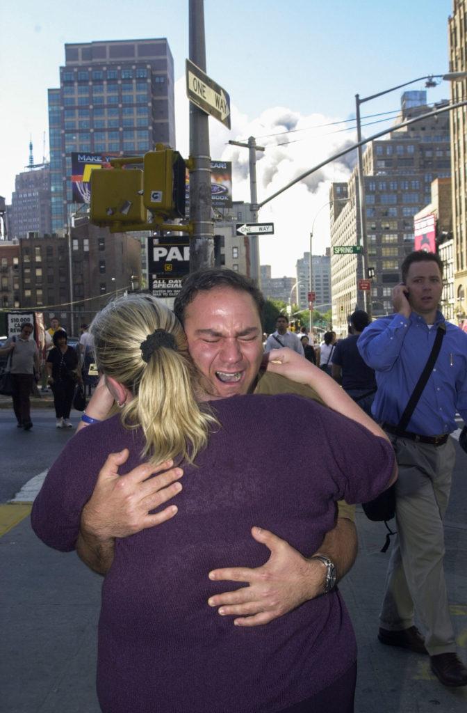September 11th terrorist attack on the World Trade Center.