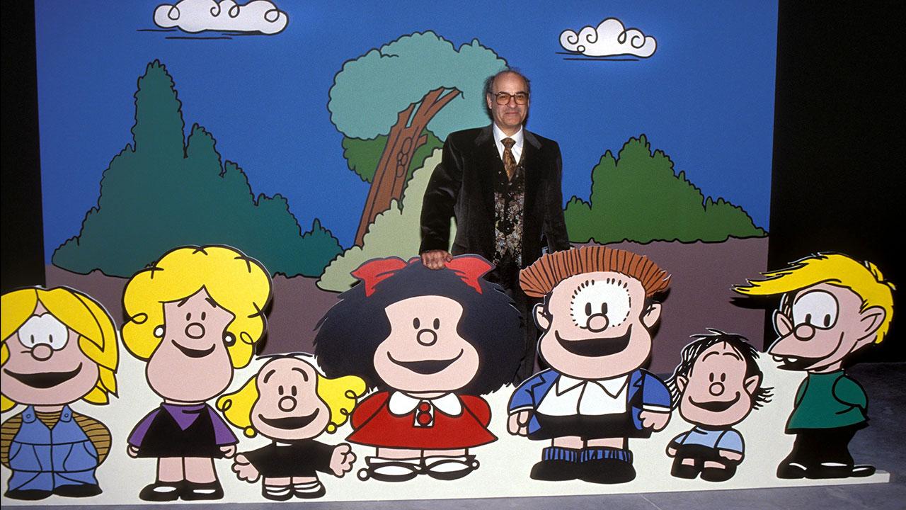 Perfil: Quino, el hombre que recorrió el mundo de la mano de Mafalda