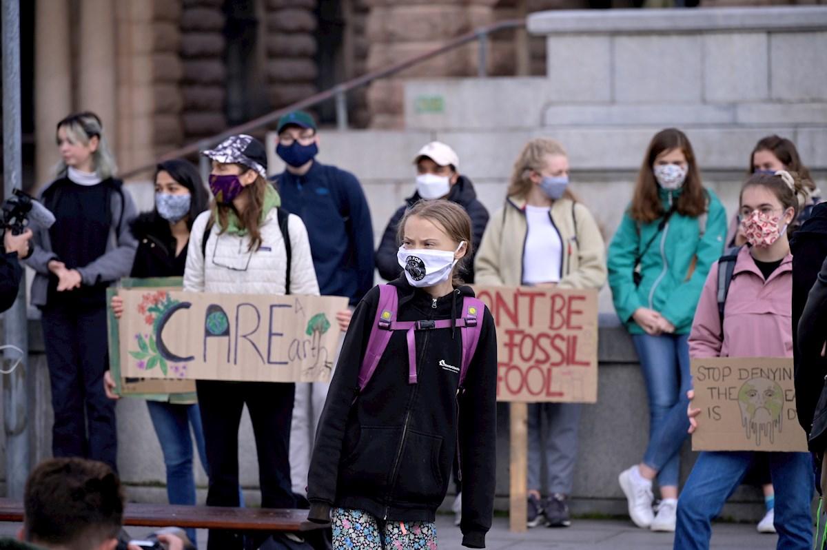 Greenpeace coordina la protesta más larga de la historia de Bélgica